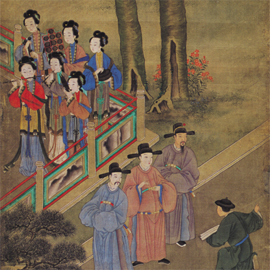 Chinese figure Paintings of All Dynasties from GuangZhou Musuem of Art