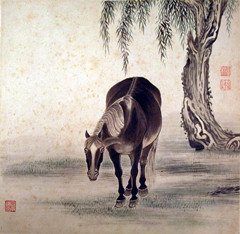 Riding the Wind: Horse Paintings of All Dynasties Collected by Guangzhou Museum of Art Celebrating the Spring Festival