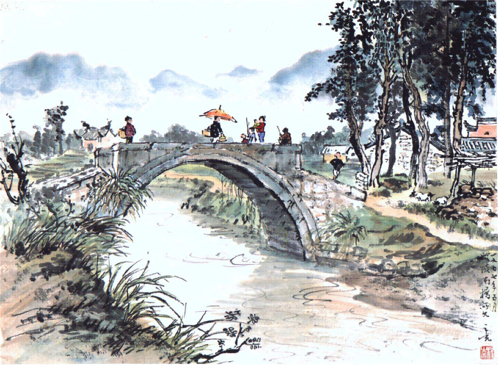 Ten painting of Yang Zhiguang